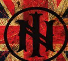 Distressed Union Jack (Sticker) - Ill Nino UK Street Team Sticker