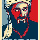 PWND - OSAMA STICKER by Vincent Carrozza