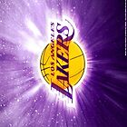LA Lakers iphone case 4/4s by RLdesigns