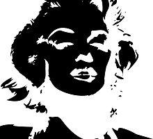 Monroe Black - Sticker by Thomas Wells