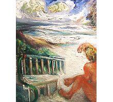 Surfer, Sand, Sea Photographic Print