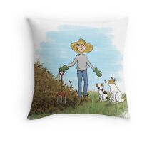 Kazart Mulch Mulch... Throw Pillow