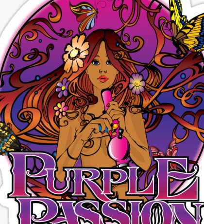 Purple Passion Sticker