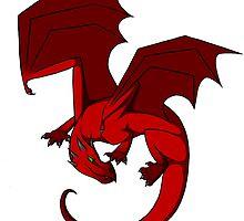 Red Dragon by Liiadragon7
