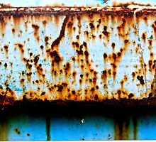 Blue Rust Shadow Line by Vikki-Rae Burns