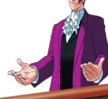 Miles Edgeworth Card Sticker