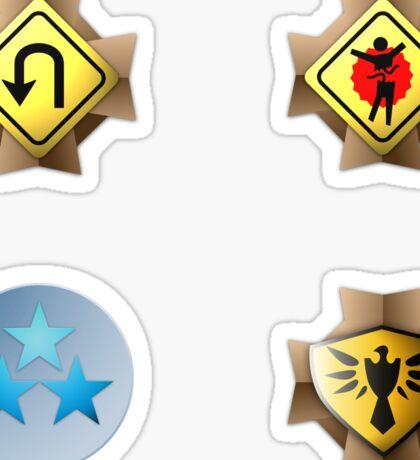 Halo Medals Sticker Pack Sticker