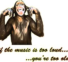 If the music is too loud... you're too old by George Dambassis