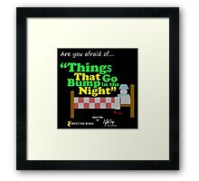 "Things that go Bump in the Night ""Short Film"" Framed Print"