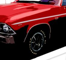 Red Chevelle Sticker