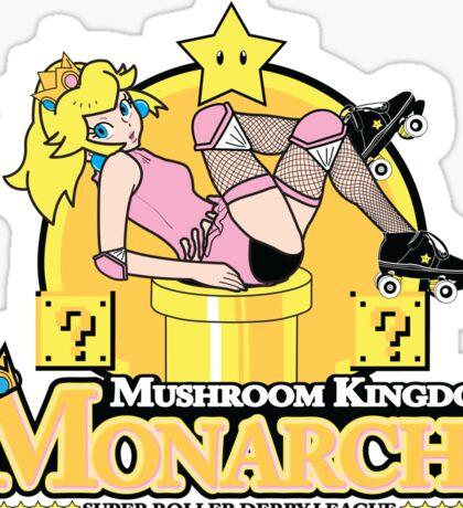 The Mushroom Kingdom Monarchs (Sticker) Sticker