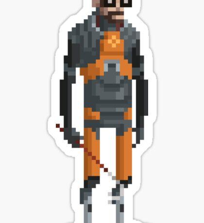 The Man With a Crowbar - Sticker Sticker