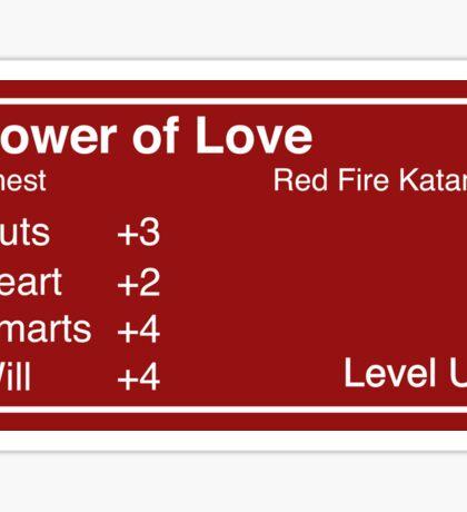 The Power of Love Sticker Sticker