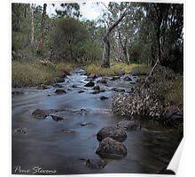 River Rocks Poster