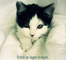 Kittens Happen by Amy-lee Foley
