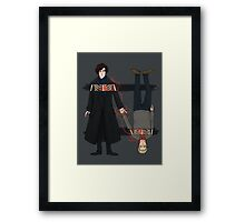 Brothers not in blood but by bond Framed Print