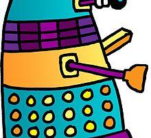 Dalek 01 by Jenny Gifford