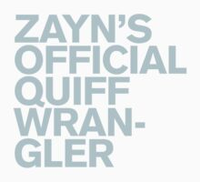 One Direction - Zayn's Official Quiff Wrangler by Adriana Owens