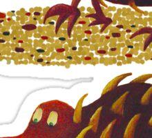 Spiky echidna Stickers Sticker