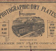 Hammer Dry Plate by © Brady-Hughes- Beasley Archives