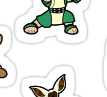 ATLA Mini Stickers: Gaang Sticker