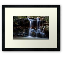 Hunts Creek Waterfall Framed Print