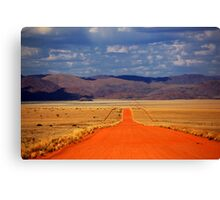The Road is Long Canvas Print