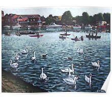 Southampton Riverside Park Poster