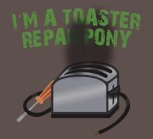 Toaster Repairpony by sirhcx