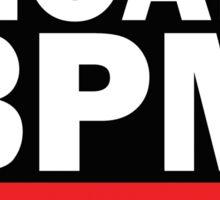 MOAR BPM Sticker