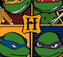 TMNT at Hogwarts Sticker