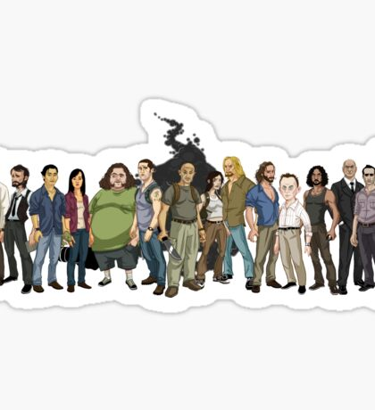 LOST: The Animated Series Sticker