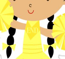ENDometriosis CHEERLEADER Sticker