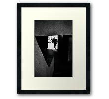 Tangents Framed Print