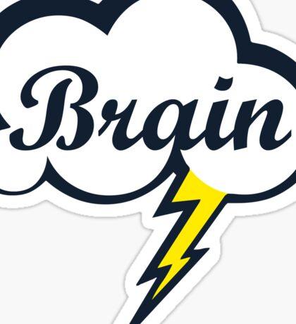 Let's Brain Storm Sticker