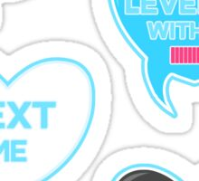 Show your geek love with Valentine Candy Bubbles  Sticker