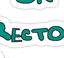 Book Sale on Rectory Verandah Sticker