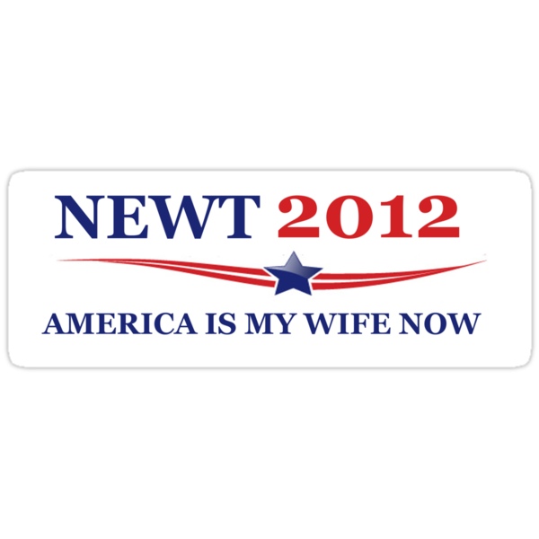 NEWT 2012: America Is My Wife Now by theresadarkness