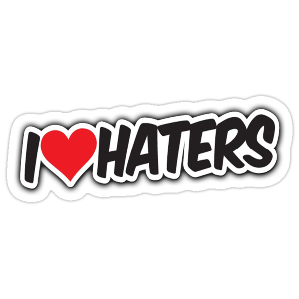 I <3 Haters by Dancas