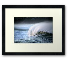 wowee wave Framed Print