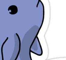 Blue Narwhal Sticker