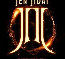Jen'jidai Guild sticker (flames) by Xenith