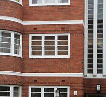 Art Deco Windows, East Melbourne by Jane McDougall