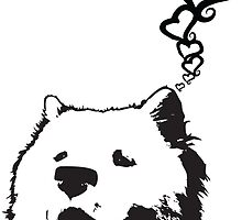 Love Your Samoyed! It Loves you! by dubl3