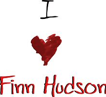 I Heart Finn Hudson by gaetax12