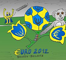 EURO 2012 binary options news cartoon by Binary-Options