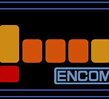 Encom Sticker by AngryMongo