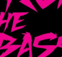 Drop The Bass Shield  Sticker
