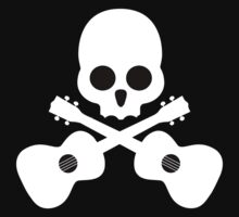 Old Skull Music Guitar Kids Clothes