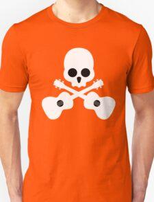 Old Skull Music Guitar Unisex T-Shirt